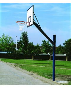 Cantilever basketball goals