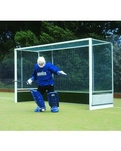 Heavy duty aluminium hockey goals