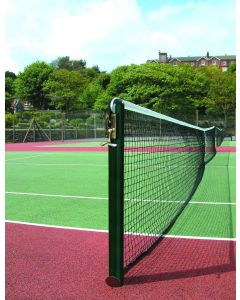 76mm Round Tennis Posts - Steel - Socketed
