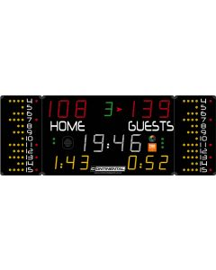 Multisports electronic scoreboard - PRO 7020/7120