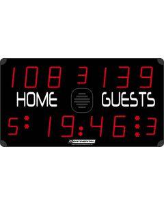Multisports electronic scoreboard - ECO 3000/3100