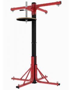 Ultimate 4 station boxing frame - 3 bag arms + speedball platform