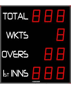 Outdoor cricket scoreboard - 10 digits