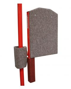 Fold up coaching platform for asymmetric (uneven) bars & high bars