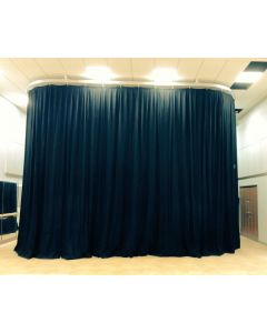 Drama room curtains