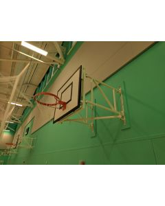 Basketball goals - Practice - Wall fixed sideways hinged