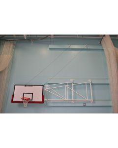 Basketball goals - Matchplay - Wall fixed - Sideways hinged