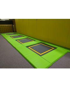Kids areas / junior park trampolines
