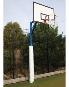 Basketball post protectors