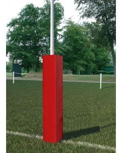 Rugby post protectors
