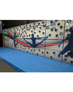TrailBlazer interactive traversing wall