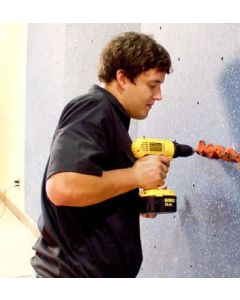 Traverse wall install