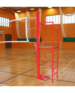 Volleyball umpires stand