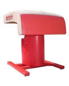 Monopod vaulting table - safety padding