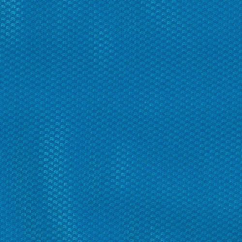 Trevira sports hall fabric wall cladding - Cobalt blue