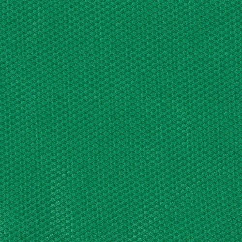 Trevira sports hall fabric wall cladding - Emerald green
