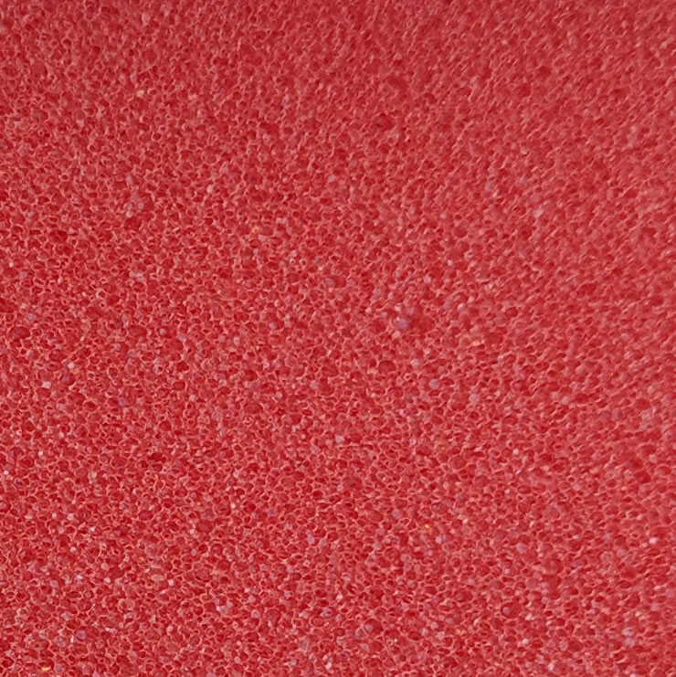 Standard red foam
