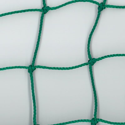 Sports hall divider curtains - green netting