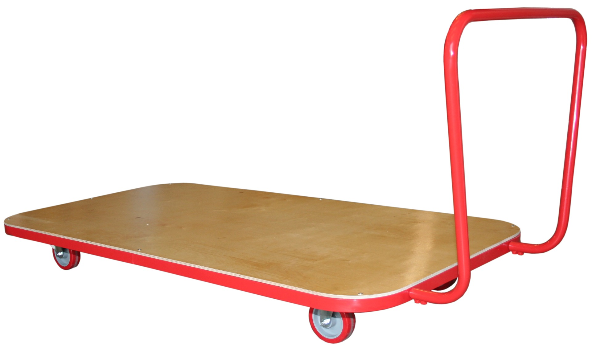 Trolley for floor protection products